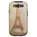 Eiffel Tower by Seurat, Vintage Pointillism Art Samsung Galaxy S3 Cover