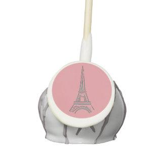 Eiffel Tower Cake Pops Paris Theme Party Favors