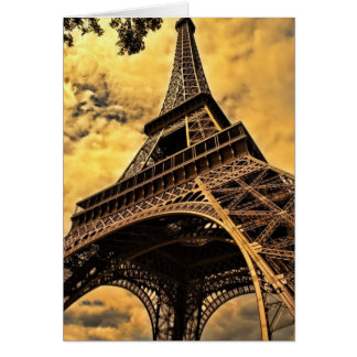 Eiffel Tower Greeting Cards
