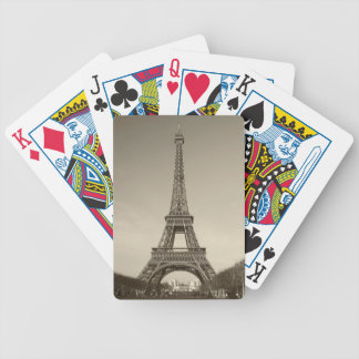 Eiffel Tower Cars Bicycle Playing Cards