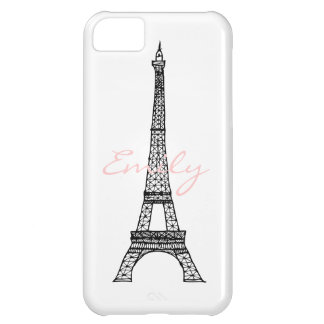 Eiffel Tower Case For iPhone 5C