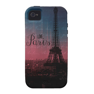 Eiffel Tower Case-Mate iPhone 4 Cases