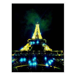Eiffel Tower CB Postcard