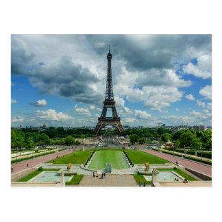Eiffel Tower, Champs de Mars, Paris, France Postcard
