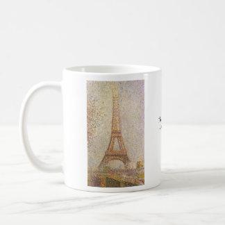 Eiffel Tower Classic White Coffee Mug