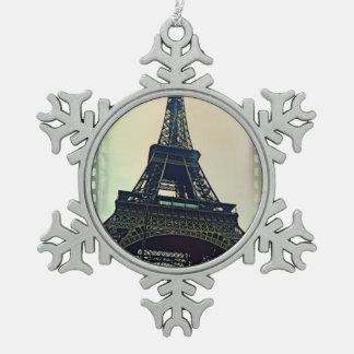 Eiffel tower-color ornaments