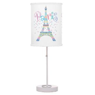 Eiffel Tower Confetti Table Lamp