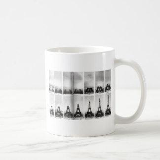 Eiffel Tower Construction Coffee Mug