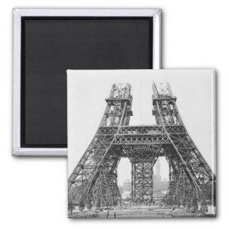 Eiffel Tower Construction Magnet