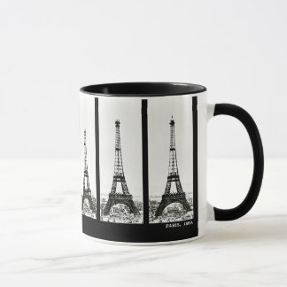 Eiffel Tower Construction Mug