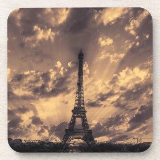 Eiffel tower cork coasters