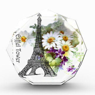 Eiffel Tower Daisies and Violets Awards