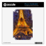 Eiffel Tower Decals For iPhone 2G