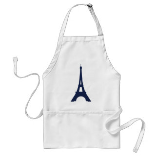 Eiffel Tower Drawing Adult Apron