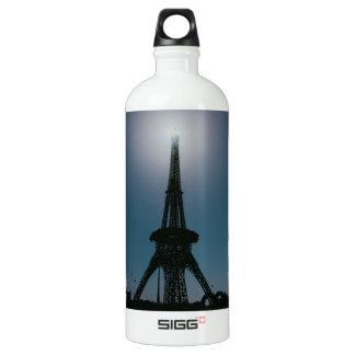 Eiffel tower, Dubai Miracle Garden Aluminum Water Bottle