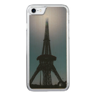 Eiffel tower, Dubai Miracle Garden Carved iPhone 7 Case