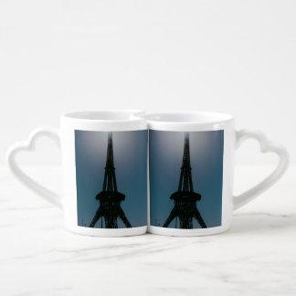 Eiffel tower, Dubai Miracle Garden Coffee Mug Set
