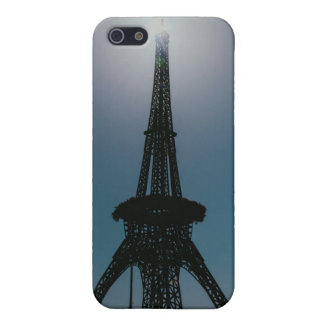 Eiffel tower, Dubai Miracle Garden Cover For iPhone SE/5/5s