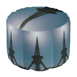 Eiffel tower, Dubai Miracle Garden Pouf