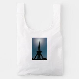 Eiffel tower, Dubai Miracle Garden Reusable Bag
