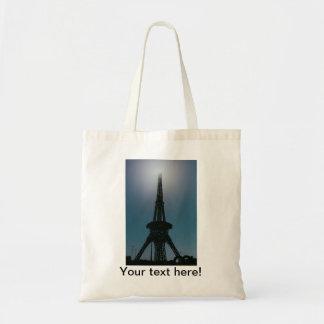 Eiffel tower, Dubai Miracle Garden Tote Bag