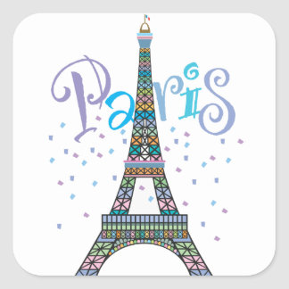 Eiffel Tower Fantasy sticker