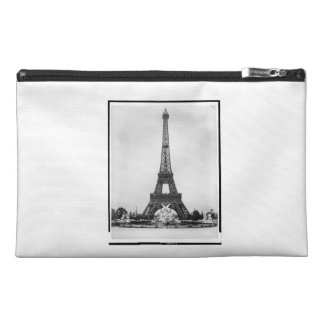 Eiffel Tower Fountain Paris Exposition 1889 Travel Accessory Bags