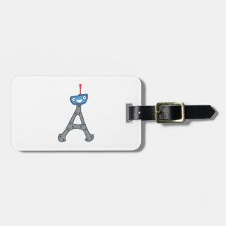 Eiffel tower, France clipart Bag Tag