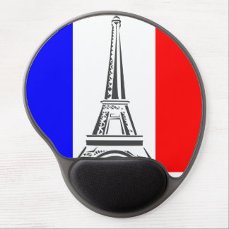 Eiffel Tower France Gel Mouse Pad