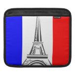 Eiffel Tower France iPad Sleeves