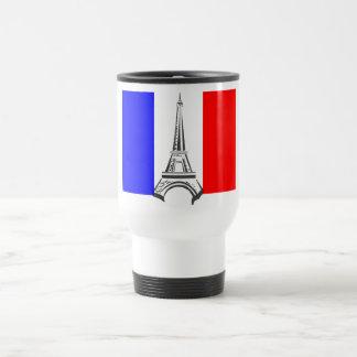 Eiffel Tower France 15 Oz Stainless Steel Travel Mug