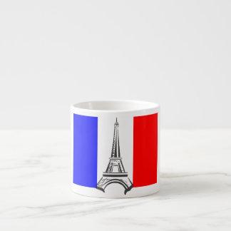 Eiffel Tower France 6 Oz Ceramic Espresso Cup