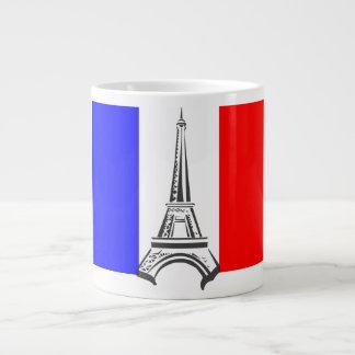 Eiffel Tower France 20 Oz Large Ceramic Coffee Mug