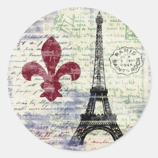 Eiffel Tower France Stickers