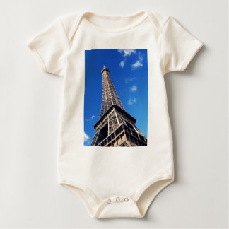 Eiffel Tower France Travel Photography Baby Bodysuit