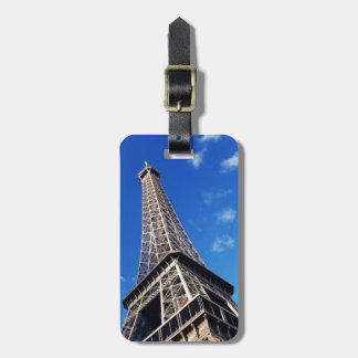 Eiffel Tower France Travel Photography Bag Tag