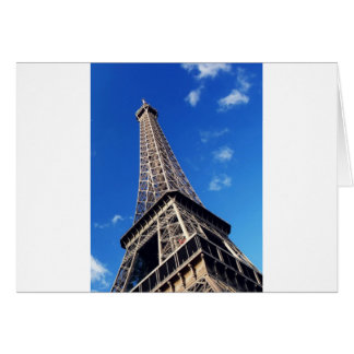 Eiffel Tower France Travel Photography Card