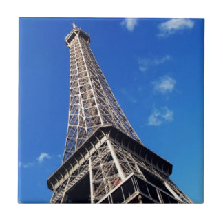 Eiffel Tower France Travel Photography Ceramic Tile