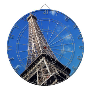 Eiffel Tower France Travel Photography Dart Boards