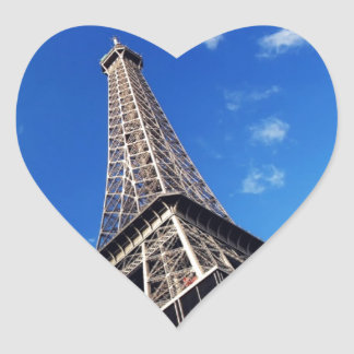 Eiffel Tower France Travel Photography Heart Sticker