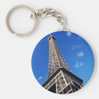 Eiffel Tower France Travel Photography Keychain