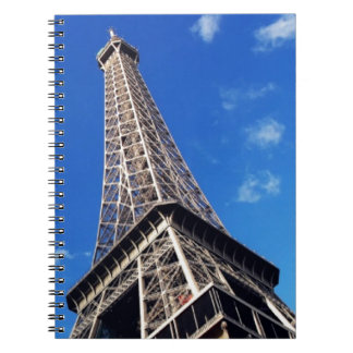 Eiffel Tower France Travel Photography Notebook