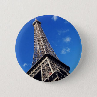 Eiffel Tower France Travel Photography Pinback Button