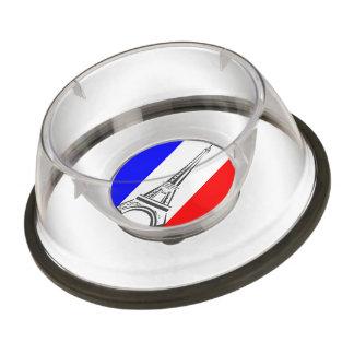 Eiffel Tower France Pet Bowl