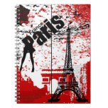 Eiffel Tower French Notebook