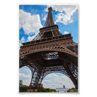 Eiffel Tower from Below Photo Print