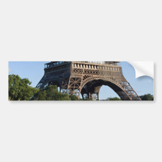 Eiffel Tower from north Avenue de New York Bumper Sticker