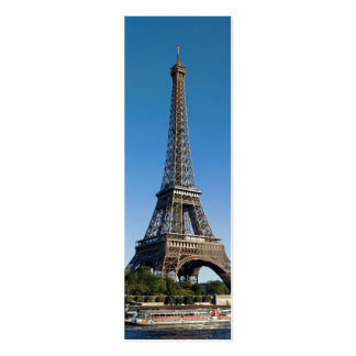 Eiffel Tower from north Avenue de New York Double-Sided Mini Business Cards (Pack Of 20)
