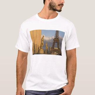 Eiffel Tower from the Palais de Chaillot, Paris, T-Shirt