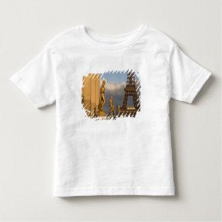 Eiffel Tower from the Palais de Chaillot, Paris, Toddler T-shirt